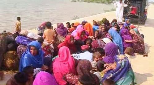Záplavy v Kašmíru