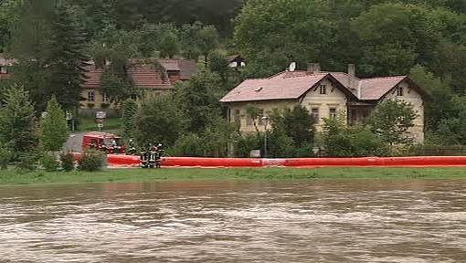 Přívalové deště v Rakousku