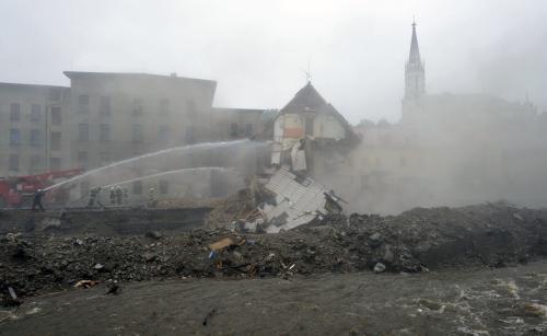 Demolice domu v Chrastavě