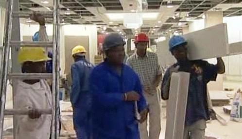 Jihoafričtí dělníci