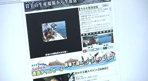 Japonský rybí e-shop