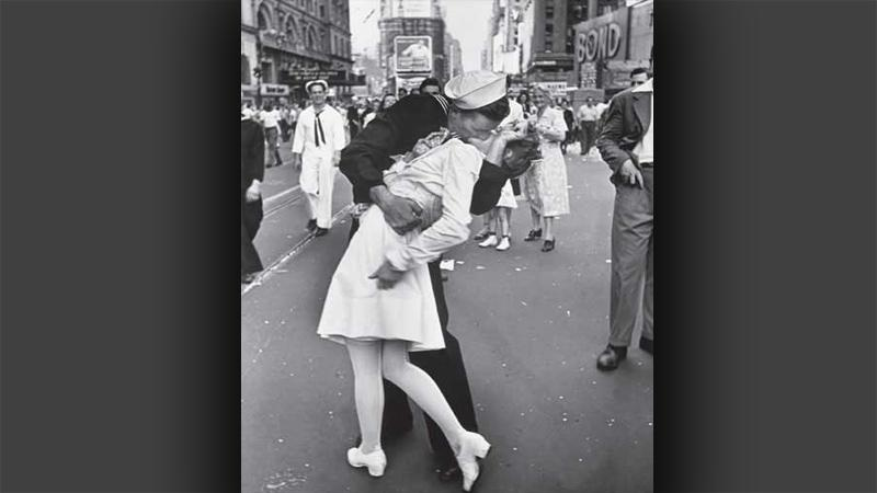 A. Eisenstaedt: Den vítězství na Times Square