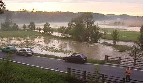 Krajina po povodních