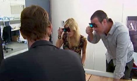 Na Armaniho ve 3D brýlích