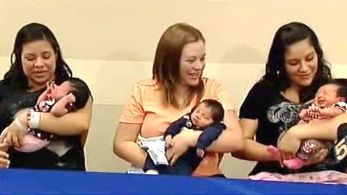Šťastné maminky Leslie, Saby a Lilian