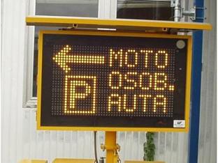 Dopravní značení na Velké ceně Brna