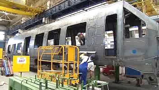 Výroba vagónu