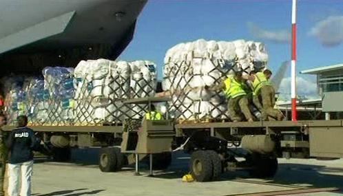 Humanitární pomoc pro Pákistán