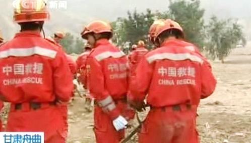 Čínští záchranáři