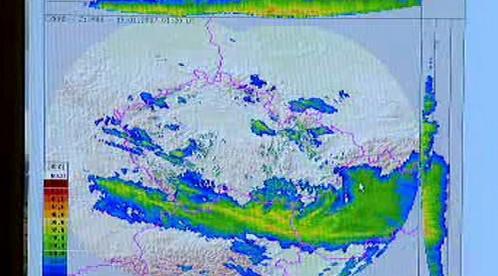 Mapa počasí