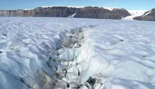 Puklina v ledovci