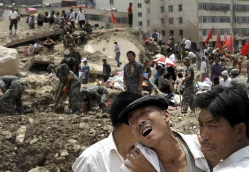 Sesuv půdy v Čou-čchü