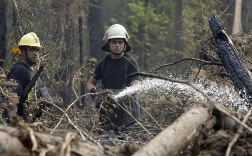 Ruští hasiči