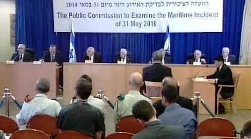 Ehud Barak před komisí