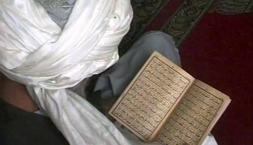 Muslim při modlitbě
