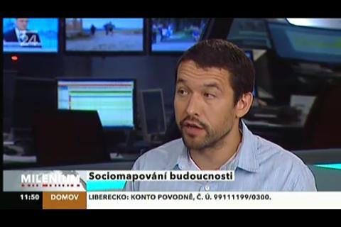 Živé vysílání ČT24 na iPhone