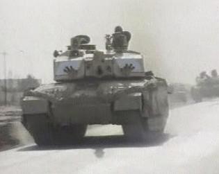 Tanky USA v Iráku
