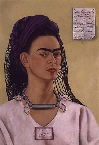 Frida Kahlo / Autoportrét (1940)