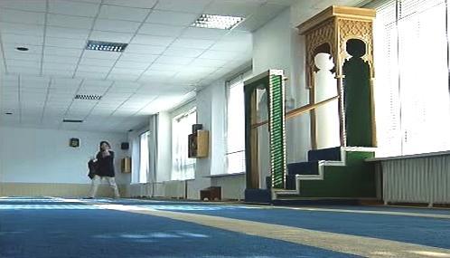 Vyklizená hamburská mešita