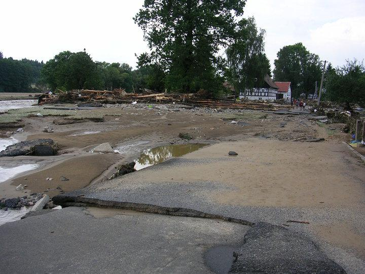 Záplavy - Frýdlantsko
