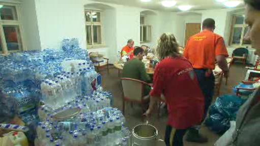 Sběr pitné vody na chrastavské radnici