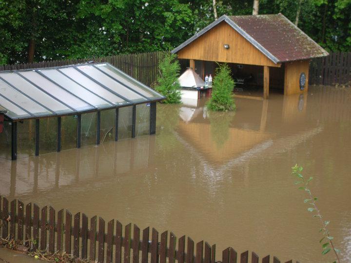 Záplavy - Brniště