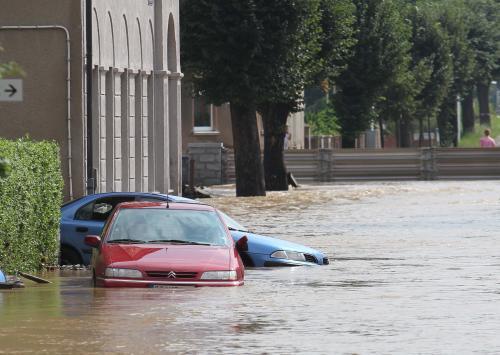 Německo pod vodou