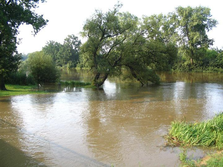 Záplavy - Soběslav