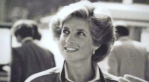 Princezna Diana na letišti Heathrow