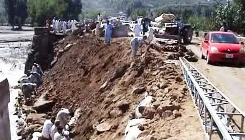 Následky povodní v Pákistánu