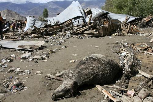 Následky povodní v Kašmíru