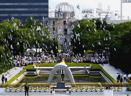 Památník obětem jaderného výbuchu v Hirošimě