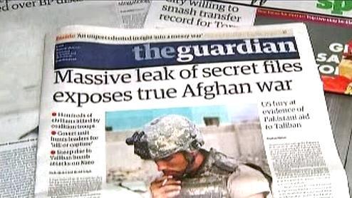 Tisk o úniku informací o Afghánistánu
