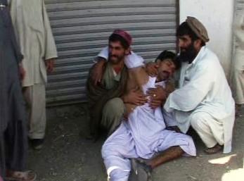 Oběť náletu v Afghánistánu
