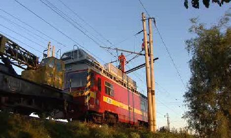 Elektřina na železnici