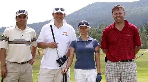 Jan Kubata na golfu