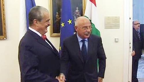 Karel Schwarzenberg a János Martonyi