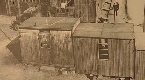 Archivní snímek tábora v Letech