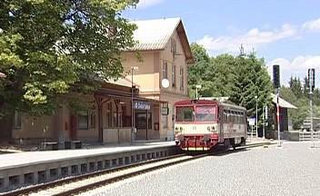Nádraží v České Kubici