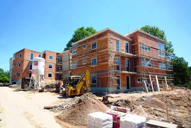 Stavba vilových domů