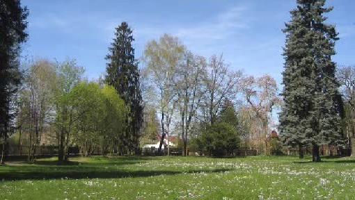 Zámecký park v Potštejně