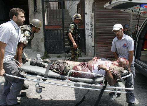 Libanonský voják zraněný v přestřelce s izraelskými vojáky