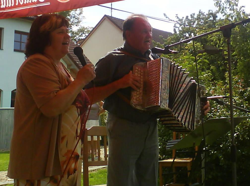 Setkání harmonikářů v Bobrové - archivní fotografie