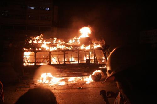 Nepokoje v Karáčí