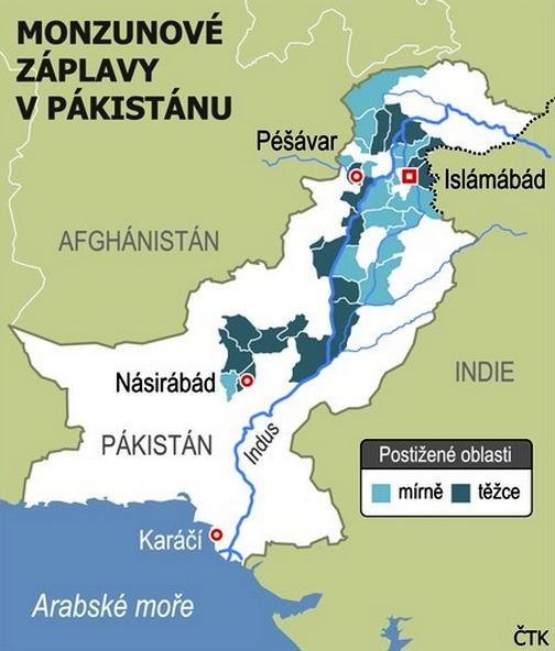 Povodně v Pákistánu