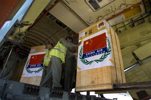 Čínská humanitární pomoc