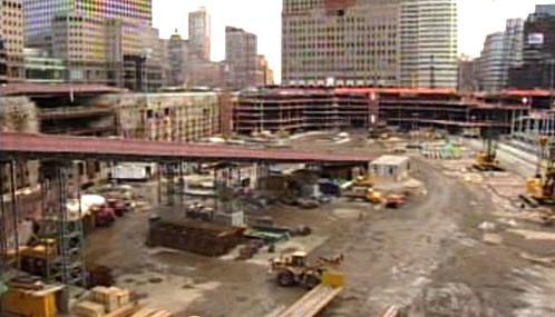 Stavební práce na Ground Zero