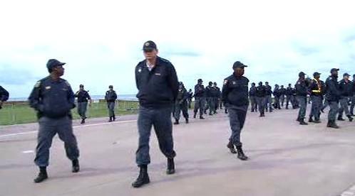 Jihoafričtí policisté