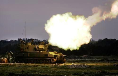 Izraelské dělostřelectvo