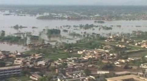 Ničivé záplavy v Pákistánu